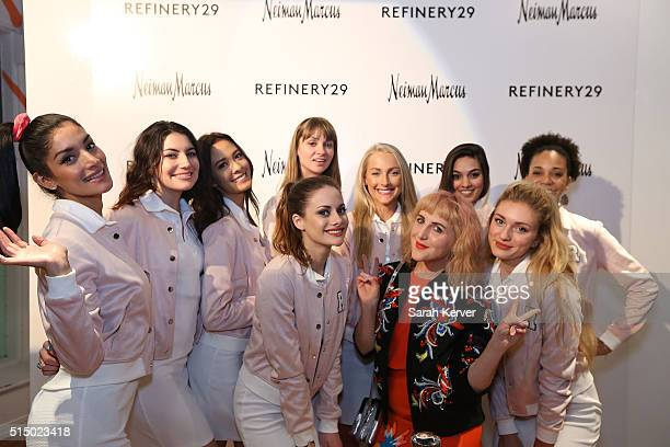 Piera Gelardi and brand ambassdors attend Refinery29's School of Self Expression opening night party presented by Neiman Marcus during SXSW on March...