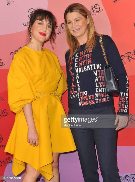 Piera Gelardi and Ellen Pompeo attend Refinery29's 29Rooms Los Angeles 2018 Expand Your Reality at The Reef on December 04 2018 in Los Angeles...