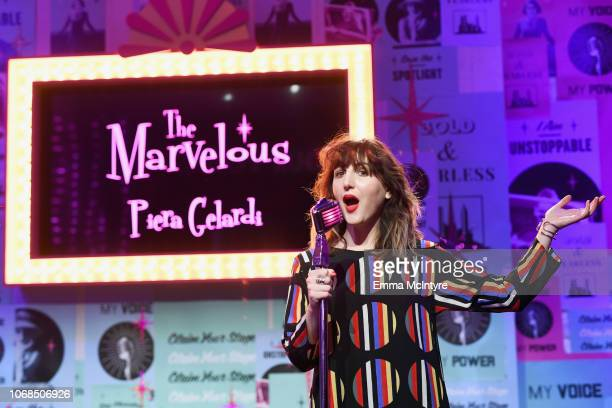 Piera Gelardi at Claim the Stage during Refinery29 29Rooms Los Angeles 2018 Expand Your Reality Press Conference at The Reef on December 3 2018 in...