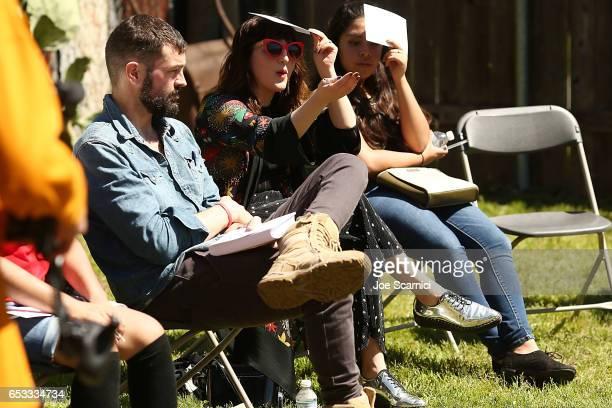 Piera Gelardi attends the Empathy Lab AntiBullying Workshop hosted by Refinery29 and Columbia University School of the Arts Digital Storytelling Lab...