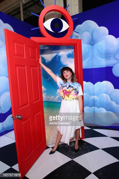 Piera Luisa Gelardi attends Refinery29 29Rooms New York 2018 Expand Your Reality Opening Press Preview on September 5 2018 in Brooklyn New York