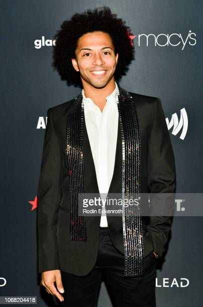 J Pierce aka Shangela Laquifa Wadley attends Out Magazine's OUT100 Awards Celebration Presented By Lexus at Quixote Studios on November 15 2018 in...