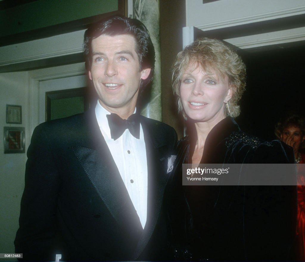 Pierce Brosnan And His Wife Cassandra : News Photo