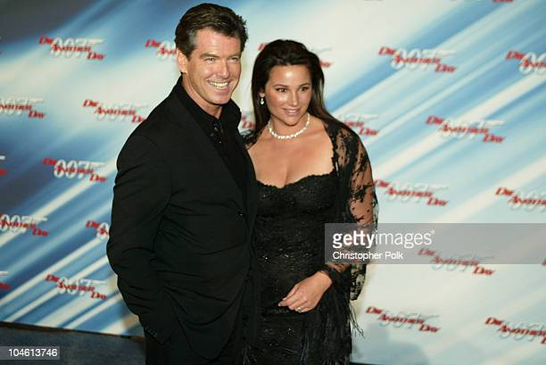 Pierce Brosnan and wife Keely Shaye Smith during Special Screening of MGM's Die Another Day at The Shrine Auditorium in Hollywood CA United States
