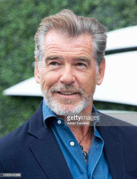 Pierce Brosnan at Day 13 of the US Open held at the USTA Tennis Center on September 8 2018 in New York City