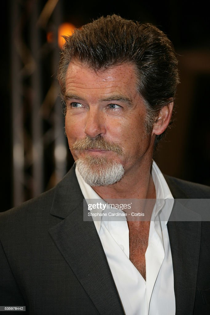 Pierce Brosnan at the opening ceremony of the 31st American Deauville Film Festival.