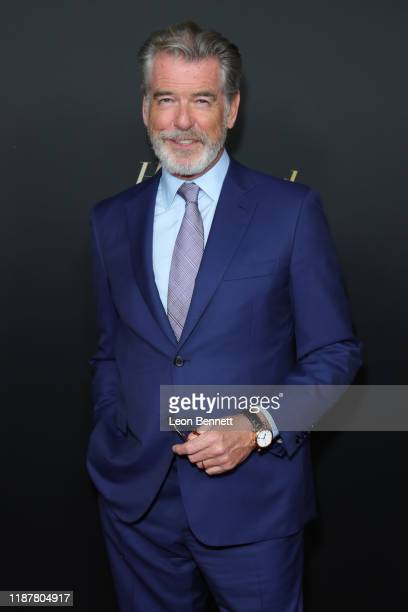 Pierce Brosnan attends HFPA And THR Golden Globe Ambassador Party at Catch LA on November 14 2019 in West Hollywood California
