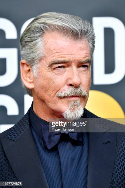 Pierce Brosnan attends the 77th Annual Golden Globe Awards at The Beverly Hilton Hotel on January 05 2020 in Beverly Hills California