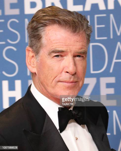 Pierce Brosnan attends the 7th Annual Breakthrough Prize Ceremony at NASA Ames Research Center on November 4 2018 in Mountain View California