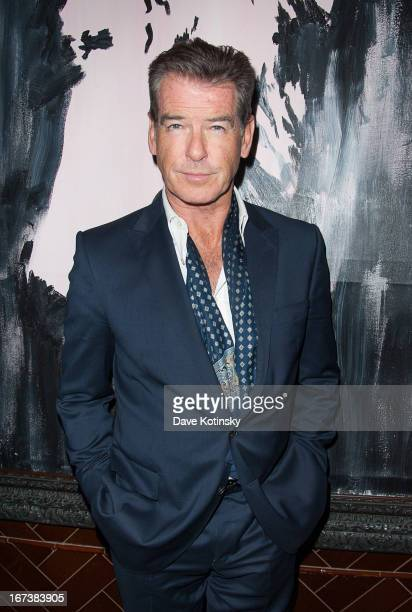 Pierce Brosnan attends the after party for the Cinema Society Disaronno screening of Sony Pictures Classics' 'Love Is All You Need' at Jimmy At The...
