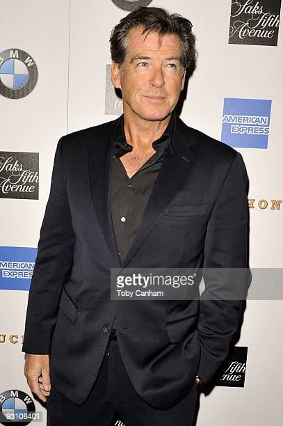 Pierce Brosnan attends the grand opening of Thomas Keller's Bouchon in Beverly Hills on November 16 2009 in Beverly Hills California