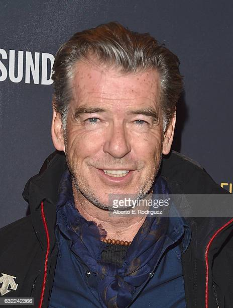 Pierce Brosnan attends The Hollywood Reporter and Sundance TV 2017 Sundance Film Festival Official Kickoff Party Park City 2017 at Sundance TV HQ on...