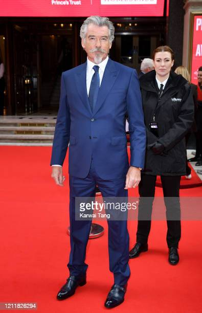 Pierce Brosnan attends the Prince's Trust And TK Maxx Homesense Awards at London Palladium on March 11 2020 in London England
