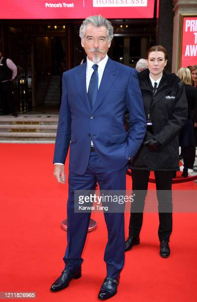 Pierce Brosnan attends the Prince's Trust And TK Maxx & Homesense Awards at London Palladium on March 11, 2020 in London, England.