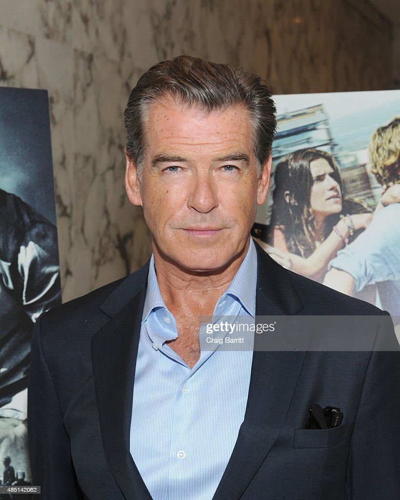 Pierce Brosnan attends the special screening of NO ESCAPE with Owen Wilson, Lake Bell and Pierce Brosnan at Dolby 88 Theater on August 24, 2015 in New York City.