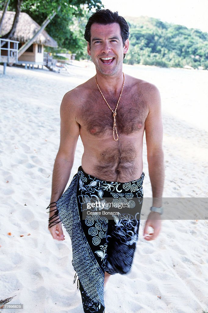 Pierce Brosnan, Self Assignment, April 27, 1998 : News Photo