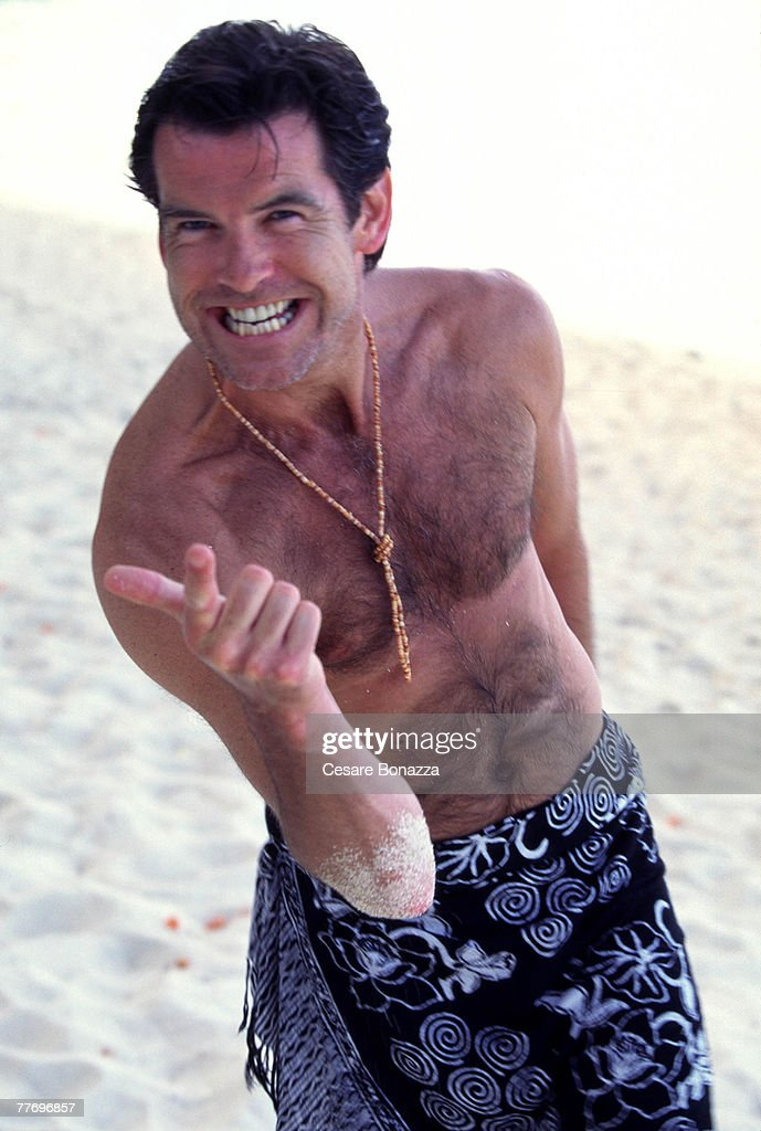 Pierce Brosnan; Bora Bora; Pierce Brosnan, Self Assignment, April 27, 1998; Bora Bora; Tahiti.