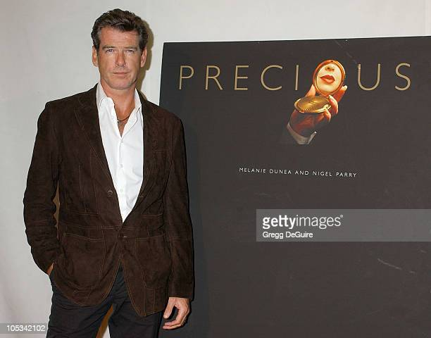 Pierce Brosnan during Instyle Magazine Celebrates The Book 'Precious' By Melanie Dunea and Nigel Parry at Chateau Marmont Hotel in Los Angeles...