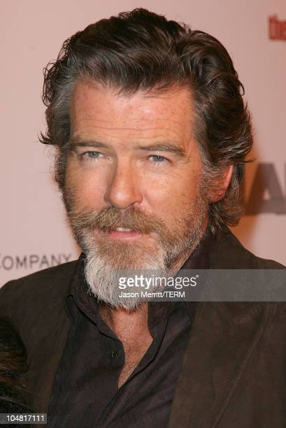 Pierce Brosnan during The Weinstein Company's The Matador Los Angeles Premiere Arrivals at Westwood Crest Theater in Westwood California United States