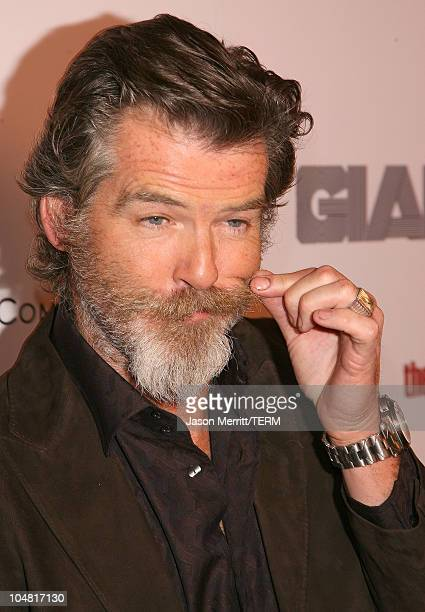 Pierce Brosnan during The Weinstein Company's 'The Matador' Los Angeles Premiere Arrivals at Westwood Crest Theater in Westwood California United...