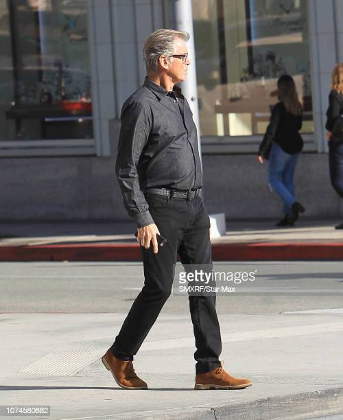 Pierce Brosnan is seen on December 21 2018 in Los Angeles CA