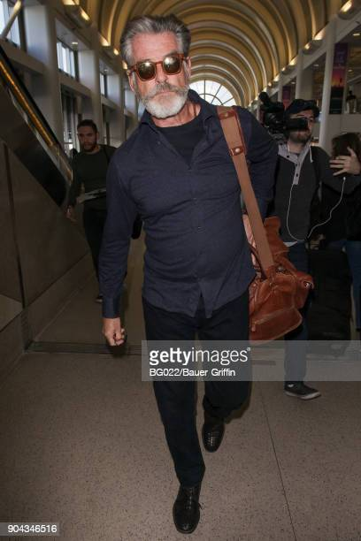 Pierce Brosnan is seen on January 12 2018 in Los Angeles California