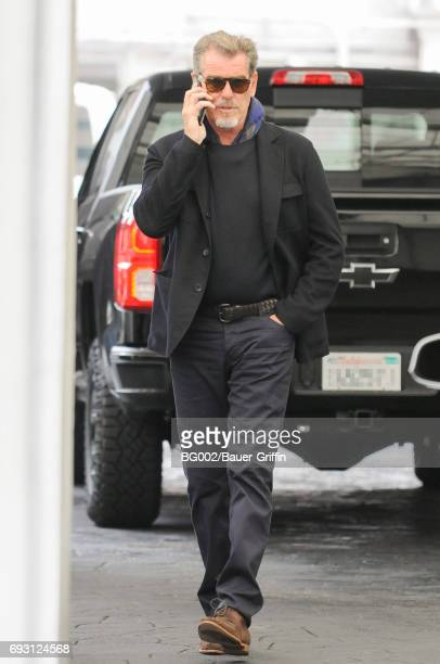 Pierce Brosnan is seen on June 06 2017 in Los Angeles California
