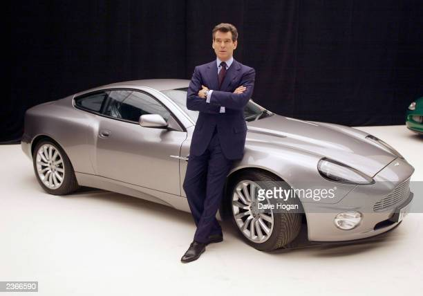 Pierce Brosnan Pinewood Studios England The launch of 'BOND 20' photo by Dave Hogan/Mission Pictures/Getty Images