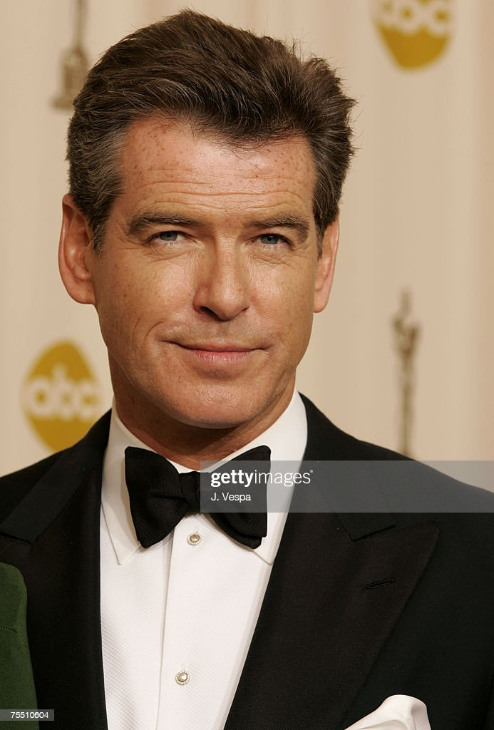 Pierce Brosnan, presenter Best Costume Design at the Kodak Theatre in Hollywood, California