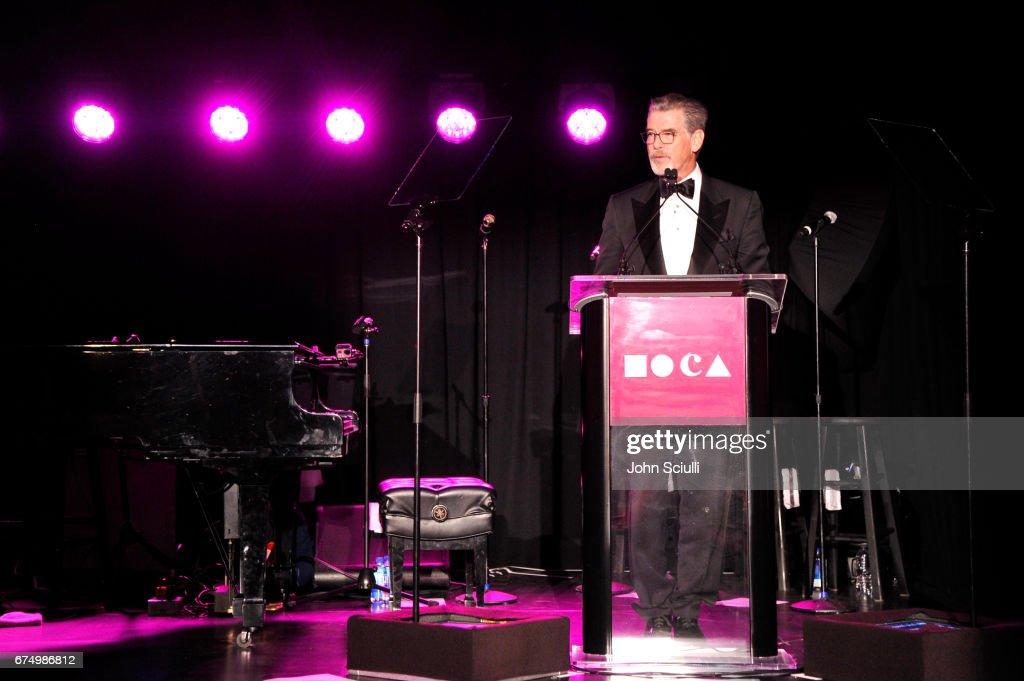 MOCA Gala 2017 Honoring Jeff Koons : Fotografía de noticias