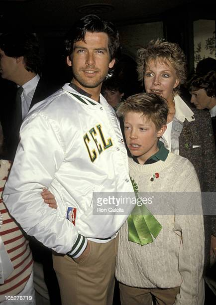 Pierce Brosnan wife Charlotte Harris and son Christopher Harris