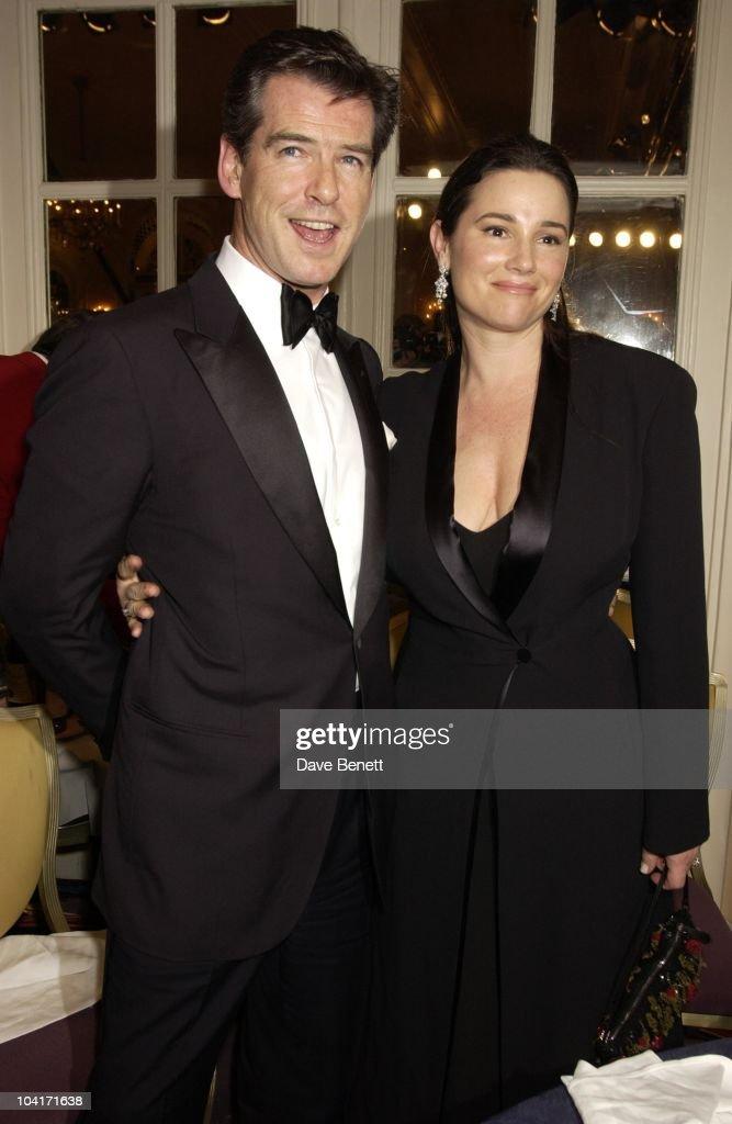 Pierce Brosnan & Wife Keeley, Evening Standard Film Awards, At The Savoy Hotel, London