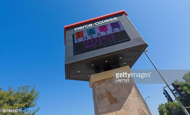 Pierce College Sign