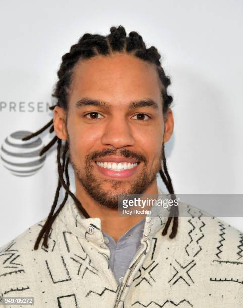 Pierce Freelon attends the Shorts Program The History of White People in America during the 2018 Tribeca Film Festival at Regal Battery Park 11 on...