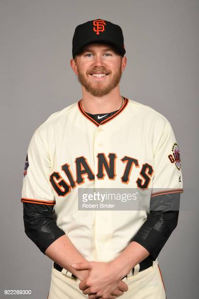 Pierce Johnson of the San Francisco Giants poses during Photo Day on Tuesday February 20 2018 at Scottsdale Stadium in Scottsdale Arizona