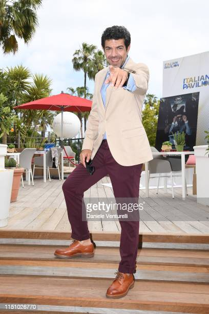 Pierfrancesco Favino attend the photocall for The Traitor during the 72nd annual Cannes Film Festival on May 23 2019 in Cannes France