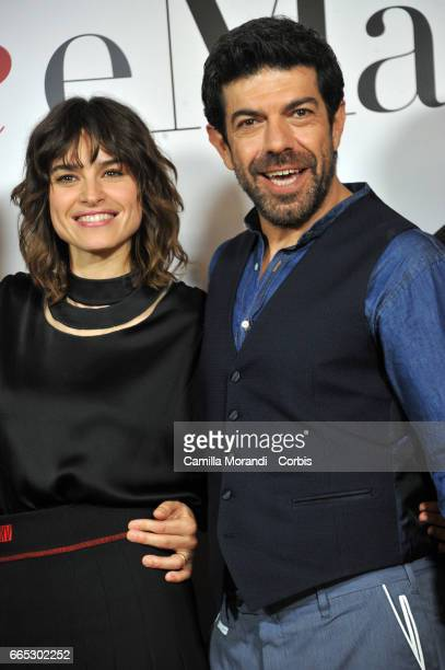 Pierfrancesco Favino attends 'Moglie e Marito' Photocall on April 6 2017 in Rome Italy