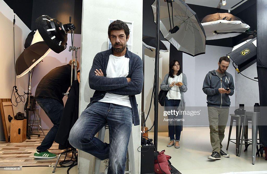 Pierfrancesco Favino attends the Guess Portrait Studio during 2014 Toronto International Film Festival on September 9, 2014 in Toronto, Canada.