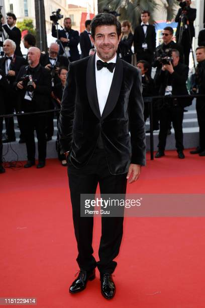 Pierfrancesco Favino attends the screening of The Traitor during the 72nd annual Cannes Film Festival on May 23 2019 in Cannes France