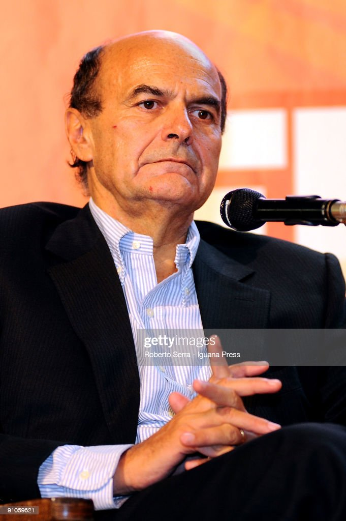 Pierluigi Bersani Attends The Festa Democratica