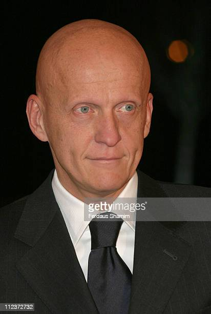 Pierluigi Collina during 2005 BBC Sports Personality of the Year at BBC Television Centre in London Great Britain