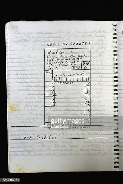 Piero Carboni's diary where it is contained the story of the discovery of the heads that are belived to be attributed to Amedeo Modigliani is...