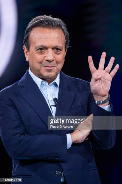 Piero Chiambretti at the Cr4 La Repubblica Delle Donne TV Show at Mediaset Studios on November 25 2019 in Milan Italy