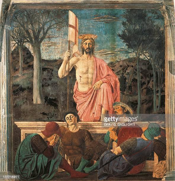 Piero della Francesca The Resurrection fresco