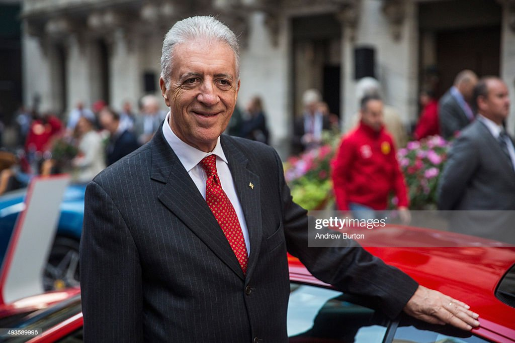 Piero Ferrari Son Of Ferrari Automotive Company Founder Enzo Ferrari News Photo Getty Images