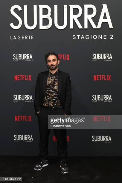 Piero Messina attends the after party for Netflix Suburra The Series season 2 launch at Circolo Degli Illuminati on February 20 2019 in Rome Italy