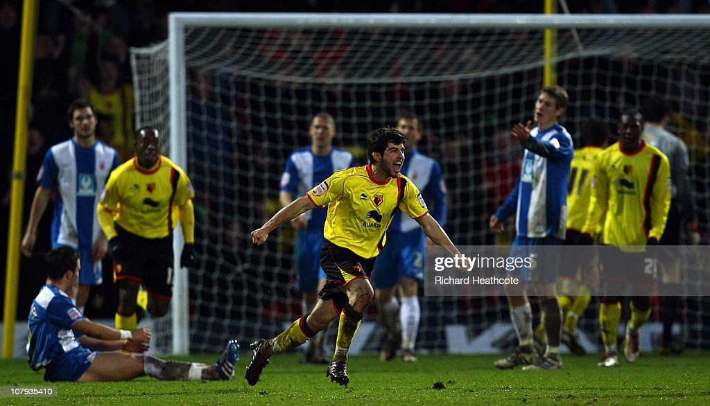 Watford v Hartlepool United- FA Cup 3rd Round : News Photo