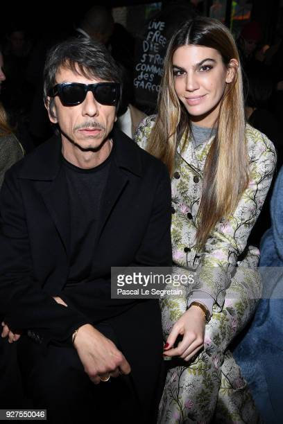 Pierpaolo Piccioli and Bianca Brandolini d'Adda attend the Giambattista Valli show as part of the Paris Fashion Week Womenswear Fall/Winter 2018/2019...