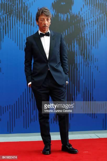 Pierpaolo Piccioli attends the The 1st Franca Sozzani Award during the 74th Venice Film Festival at Sala Giardino on September 1 2017 in Venice Italy