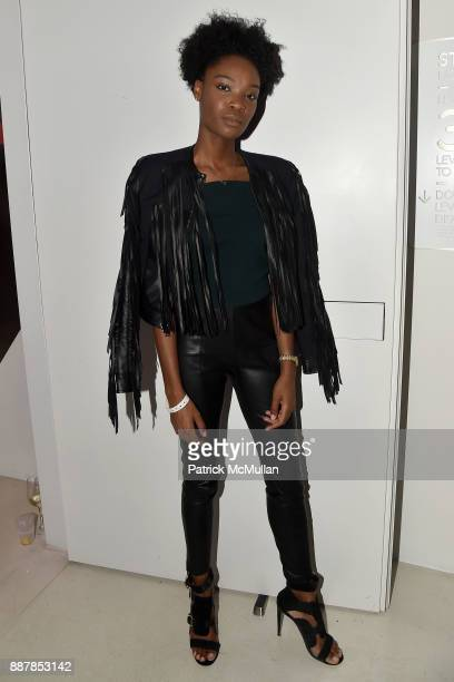Pierrah Hilaire attends the After Party at Faena Forum on December 4, 2017 in Miami Beach, Florida.